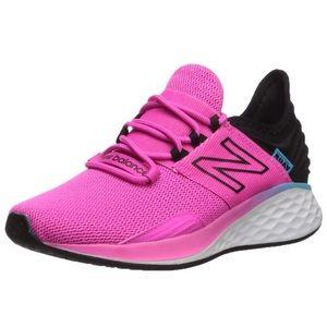 NEW BALANCE Foam ROAV Pink Black Running Shoes 12